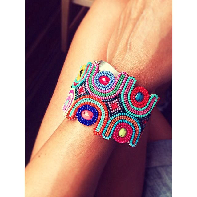 My new bracelet. Colourtherapy. Tuscany.