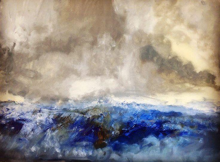 "53 aprecieri, 1 comentarii - BMR -🎨 painter (@bogdanmihairadu) pe Instagram: ""#mywork #colors #bucharest #contemporaryart #modernart #motivation #art🎨 #marine"""