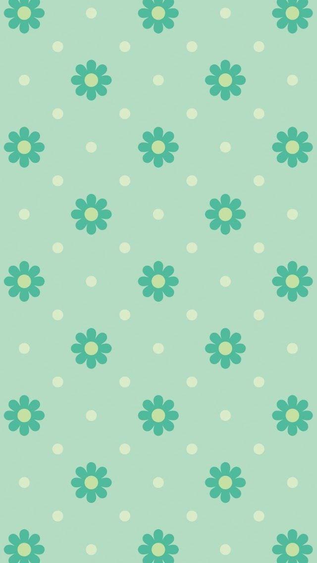 Floral wallpaper. Mais