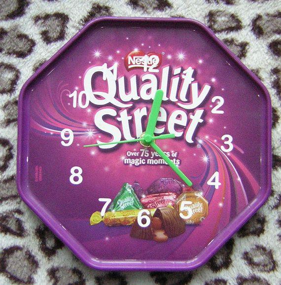Quality Street Wall Clock by Klicknc on Etsy