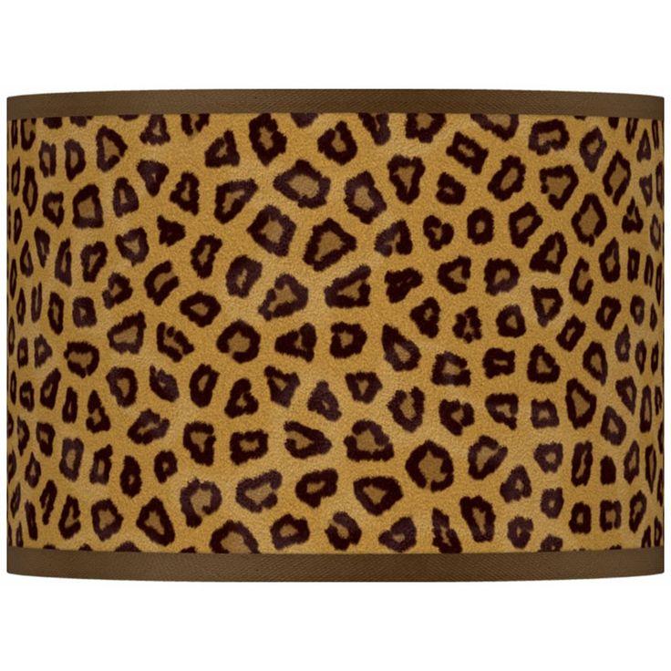Safari Cheetah Giclee Glow Lamp Shade 13.5x13.5x10 (Spider) - Style # 37869-R2294