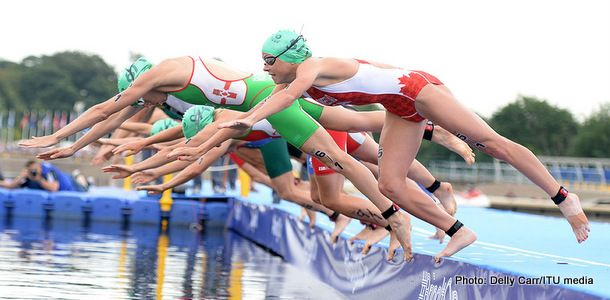Photos from Northern Ireland 6th place at Commonwealth Games triathlon relay