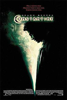 """Constantine is a 2005 American action horror film directed by Francis Lawrence as his directorial debut, starring Keanu Reeves as John Constantine, with Rachel Weisz, Shia LaBeouf, Tilda Swinton, and Djimon Hounsou. The film is based on Vertigo Comics' Hellblazer comic book, with plot elements taken from the """"Dangerous Habits"""" story arc (issues #41-46) and the """"Original Sins"""" trade paperback."""