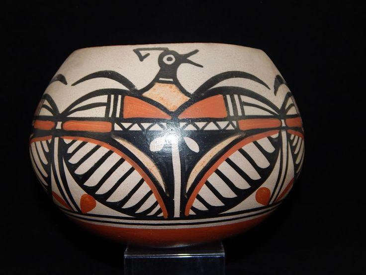 "Native American Pottery Santo Domingo Pueblo ""Kewa"" Robert Tenorio"