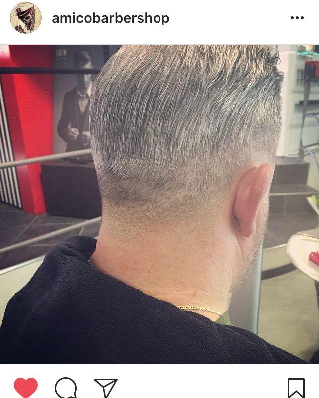 Taglio di capelli Uomo  brizzolato ,  A BarberShop , tel 077121939