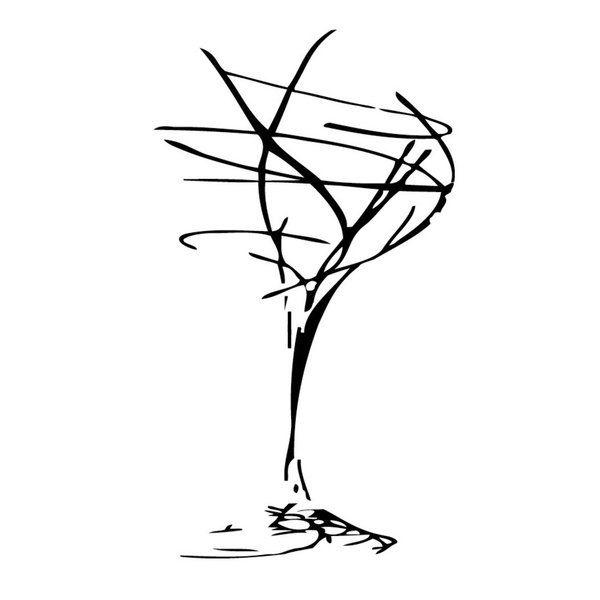 Shop Wine Glass Vinyl Wall Art Free Shipping On Orders