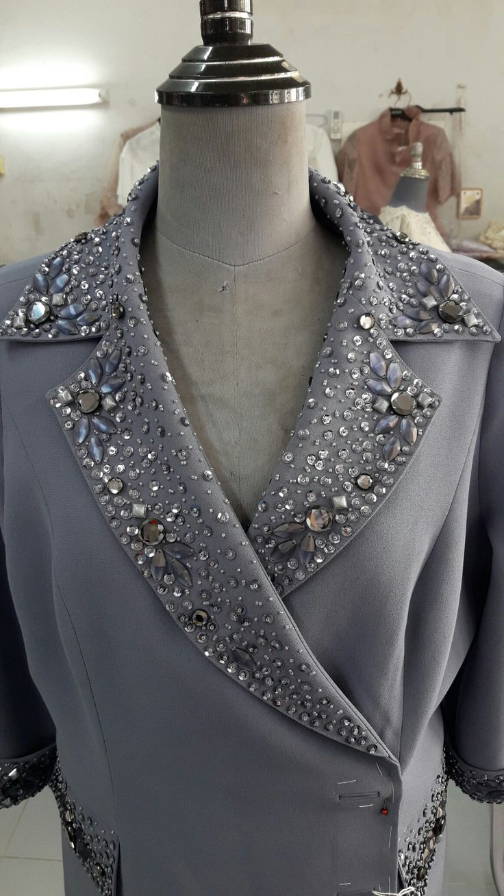 Clothes embellishment also nice with buttons!