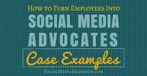 Is your business active on social media?  Are your employees active there, too?  When employees are included in your social efforts, they become important brand advocates.  In this article you'll discover how involving employees in your social media marketing benefits your business.