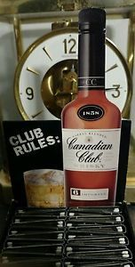 Ebay Item: VINTAGE 1980s CANADIAN CLUB WHISKY MATCHES RARE BAR UNOPENED IN ORIGINAL BOX