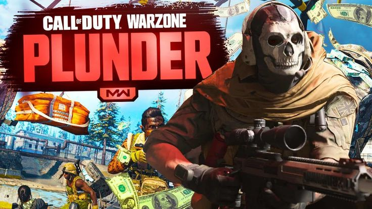 Call of Duty Warzone Plunder Battle Royale Gameplay COD 4