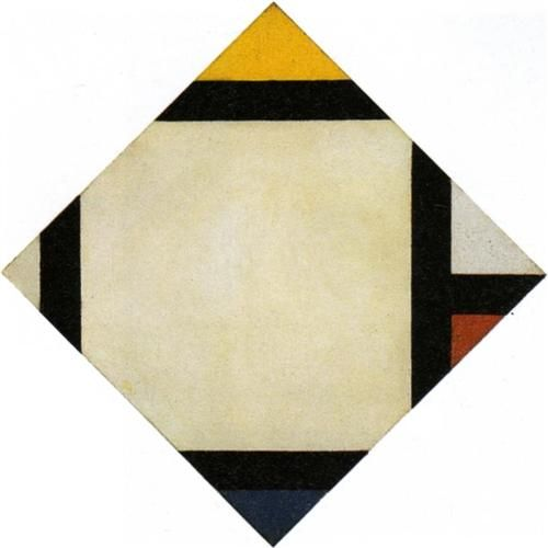 Counter composition VII (1924) - Theo van Doesburg (1883-1931)