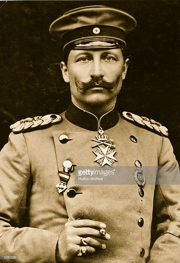 Wilhelm II (1859 - 1941) the Emperor and 9th King of Prussia.