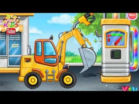 Kepce Kepce Kepcevideolari Kepcecizgifilmizle Cizgifilmizle Ismakinalari Kepceoyunoyna Excavator Bus Bulldozer Truck 2020 Animasyon Cizgi Film Videolar