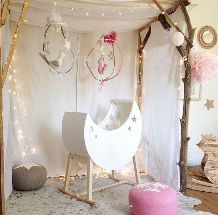 Estilos decorativos originales y creativos para habitaciones de bebés