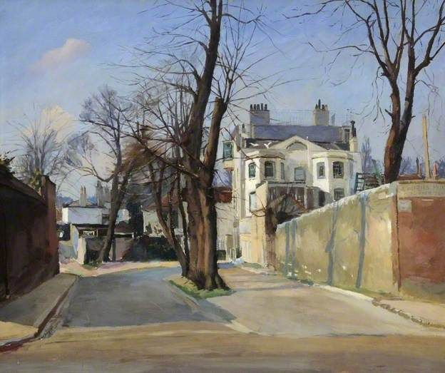 Admiral's House, Hampstead, London by Donald Chisholm Towner    Date painted: 1932