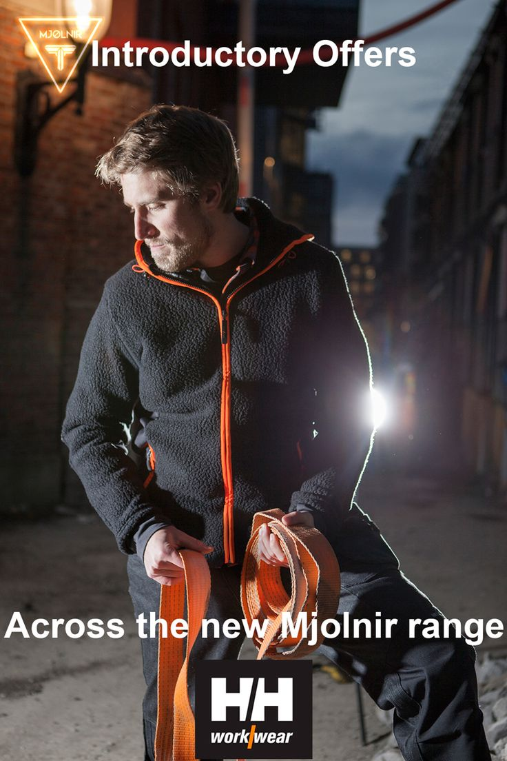 Exclusive to Mammoth Workwear, the new Helly Hansen Mjolnir range