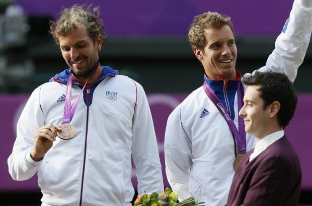 Julien Benneteau, Richard Gasquet/Médaille de Bronze Tennis double