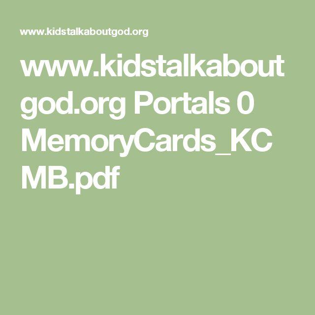 www.kidstalkaboutgod.org Portals 0 MemoryCards_KCMB.pdf
