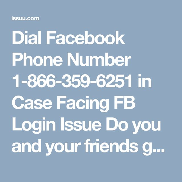 Dial Facebook Phone Number 1-866-359-6251 in Case Facing FB Login Issue   Do you and your friends get bored with your old name, which you have written at the time of account creation? Do you want to change your name? But if you can't do it on your own, then don't feel blue simply obtain our completely free as well as blue-chip service via placing a call at Facebook Phone Number 1-866-359-6251. For more information: - http://www.mailsupportnumber.com/facebook-technical-support-number.html