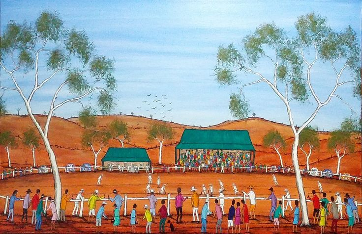Cricket In The Outback