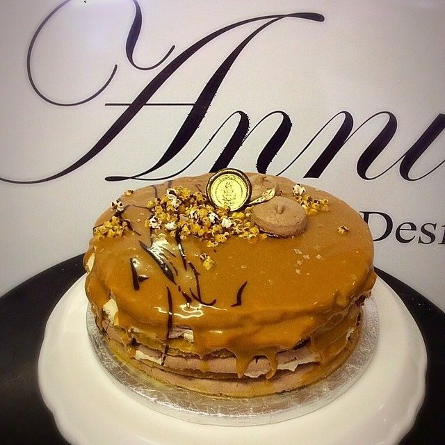 New  flavour #salted_caramel_fudge #cake  #yummy #annicas #cakessouthafrica #annicas_designer_cakes