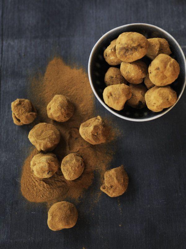 Chokoladetrøfler med lakrids - Madbanditten