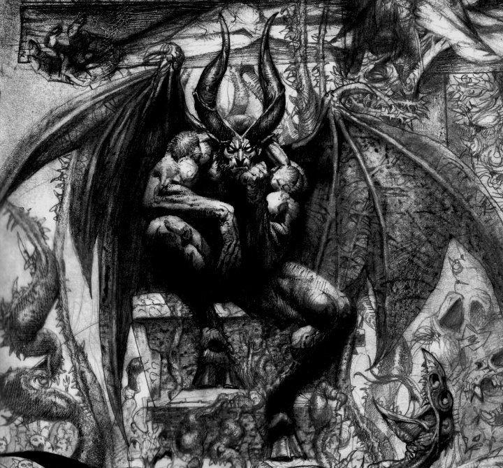 Satan Sin And Death Paradise Lost Book: 62 Best Devil /Demons /Evil Images On Pinterest