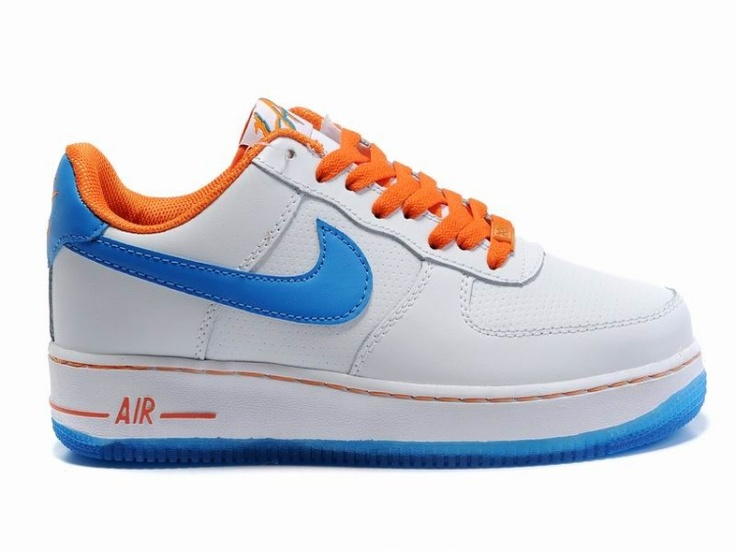 Men's Nike Air Force 1 Low All-Star 2011 Orange County Sneakers : D60s5075