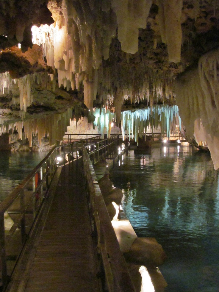 Crystal Cave- Bermuda.   Still jealous my brother got to experience this and I didn't.. Must go back!