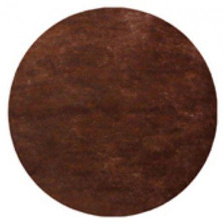 Tischset rund (50 Stück) - braun
