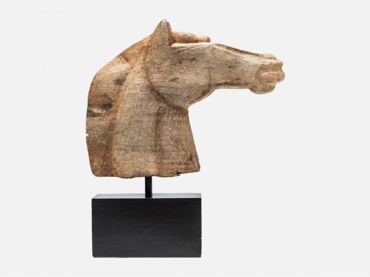 Figurka Dekoracyjna Horse Head Nature — Figurki dekoracyjne Kare Design — sfmeble.pl