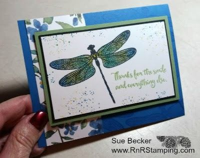 RnR Stamping: Dragonfly Dreams Sneak Peak!