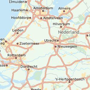Nederland. ANWB Verkeersinformatie