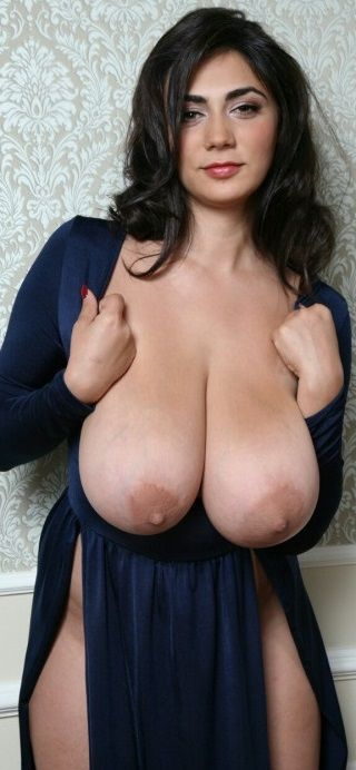 Busty dark natural