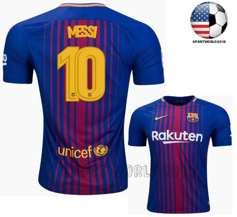 0674006a8 ... soccer jersey home Mens Short Sleeve Shirts Messi NEW FC Barcelona Home  Jersey MenAdult sold by Shop more products ...