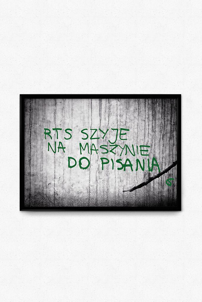 RTS plakat sitodruk - Pan tu nie stał