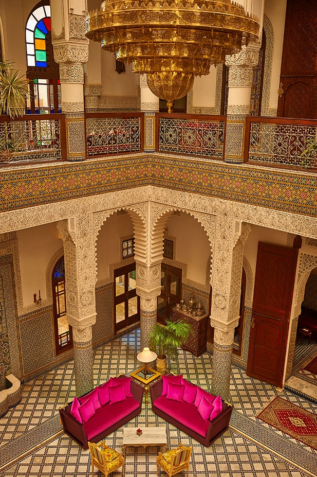 Riad Fès. Hotel and restaurant in town. Morocco, Fès. #relaischateaux #riad #fes #morocco