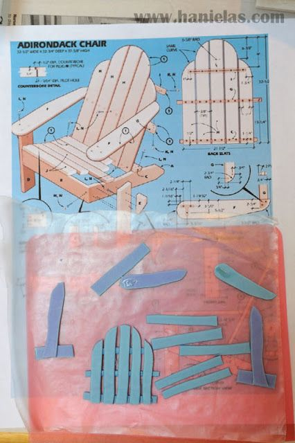Plans For Adirondack Chair Template Woodworking Projects