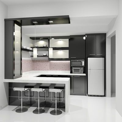 BlacknWhite Design Kitchen