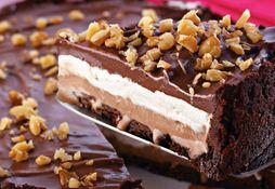 Torta de sorvete de chocolate com Marshmallow no dia 17/09/2012