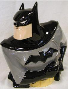 Batman Cookie Jar Frm bd: COOKIE TIME