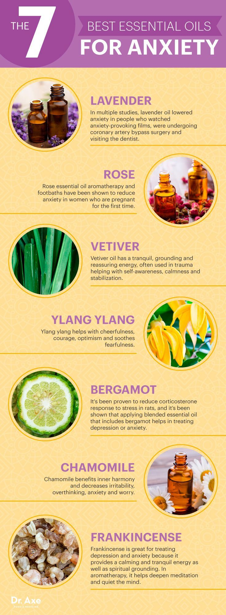 Natural ways to battle stress and anxiety with these essential oils.