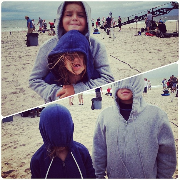 The kids of Safe Haven, Mimi Kirkland and Noah Lomax, made ...