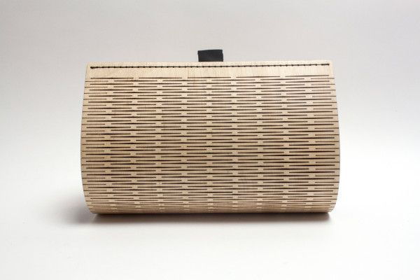 PLAAT: A Bag Made of Laser Cut Wood in style fashion main  Category