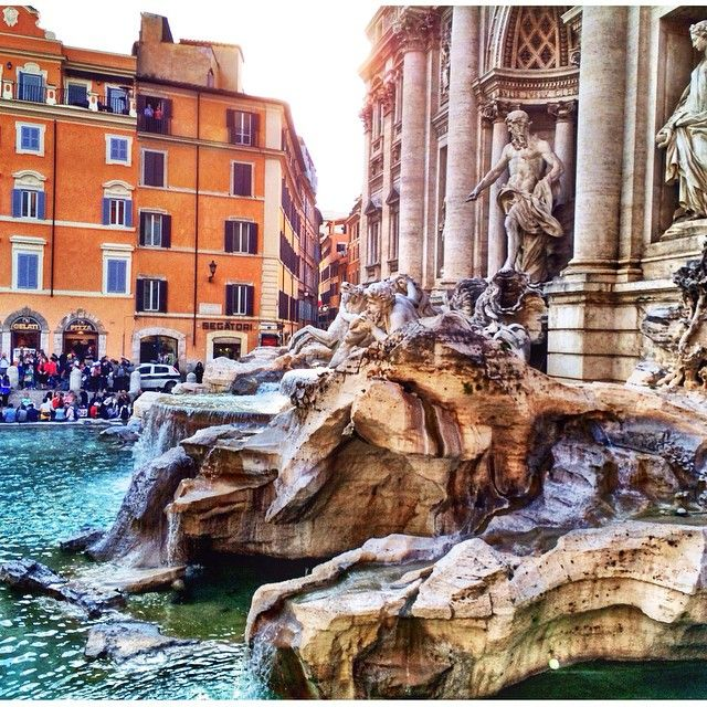 Trevi Fountain, Rome. Photo courtesy of ahasson on Instagram.