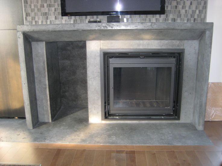 1000 id es sur le th me foyers en b ton sur pinterest. Black Bedroom Furniture Sets. Home Design Ideas