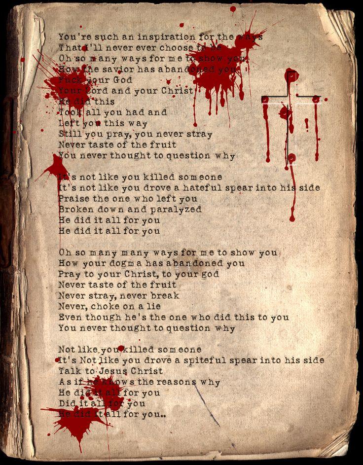 Lyric puscifer lyrics momma sed : 50 best Tool-A Perfect Circle-Puscifer-Maynard images on Pinterest ...