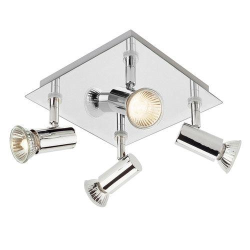 Deckenleuchte 4-flammig Square Shaped Jetzt bestellen unter: https://moebel.ladendirekt.de/lampen/deckenleuchten/deckenlampen/?uid=8789fd48-cb58-5069-a3c9-98a90e584731&utm_source=pinterest&utm_medium=pin&utm_campaign=boards #deckenleuchten #lampen #deckenlampen