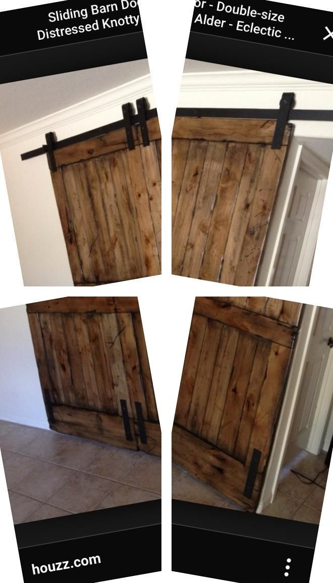 Barnwood Door Hardware Exterior Barn Door Track Kit Door Hardware Kit Interior Barn Door Track System Barn Door Style In In 2020 Barn Door Hardware Barn Doors