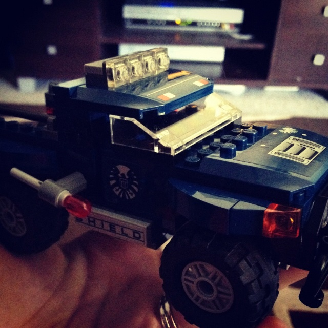 Day 14 - Building. Building birthday Lego! #photoadayjuly